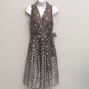 Jones New York Polkadot Dress Size 6